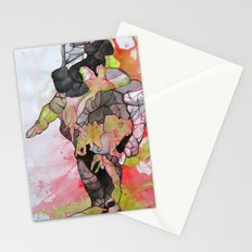 Dino-man Stationery Cards