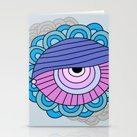 eye clumps Stationery Cards