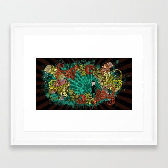 Party Devil Framed Art Print