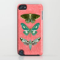 iPod Touch Cases featuring Lepidoptery No. 5 by Andrea Lauren  by Andrea Lauren Design