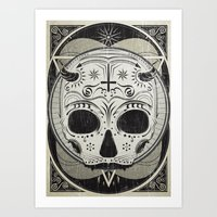 il vampiro Art Print