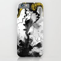 iPhone & iPod Case featuring Horns, braids and stars by Dnzsea