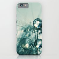 One Seed with Blue Drops iPhone 6 Slim Case