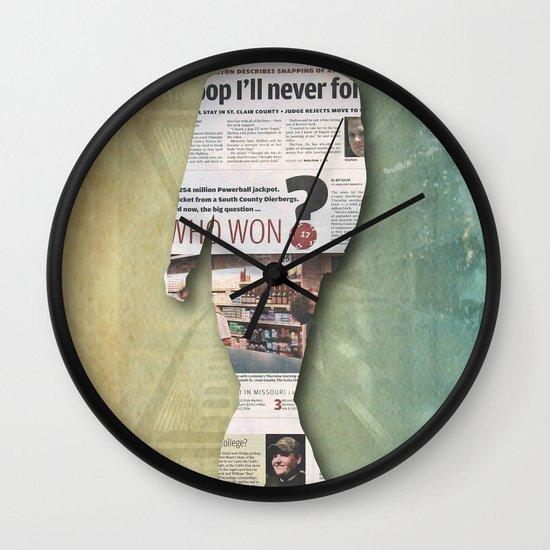platform 1 Wall Clock