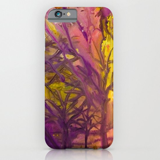 Psychedelic Forest Fire iPhone & iPod Case