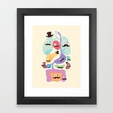 Gentlemen Organs Framed Art Print