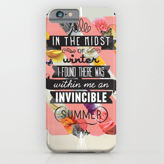 The Invincible Summer iPhone & iPod Case