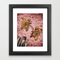 One Thousand Pardons: TummyBuddies: Psychic Warriors Connected by their Bellies Framed Art Print