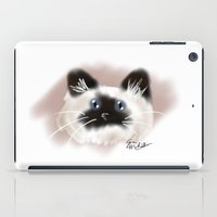 Crazy Siamese iPad Case