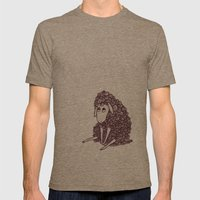 Sheepie Mens Fitted Tee Tri-Coffee SMALL