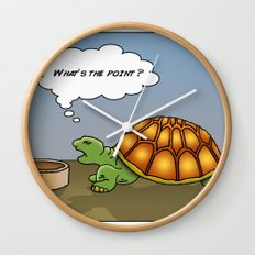 Pet Tortoise  Wall Clock