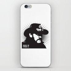 Fuck it iPhone & iPod Skin