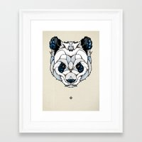 Big Panda Framed Art Print