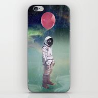 Red Balloon iPhone & iPod Skin