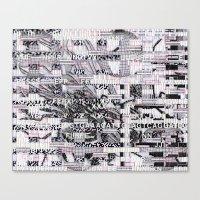 Surrender Your Informati… Canvas Print