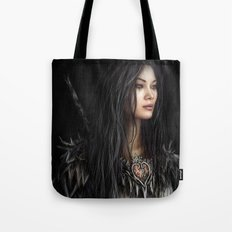 Armored Heart Tote Bag