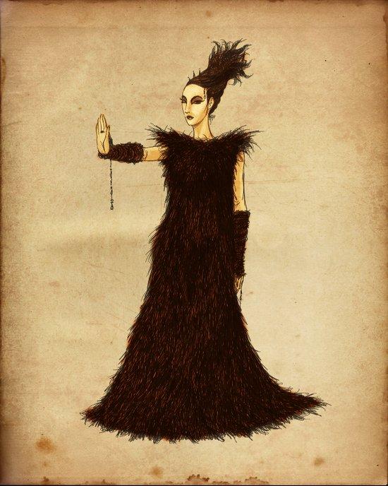 Dark Empress Invidia Art Print