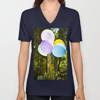 Boot And Balloons Unisex V-Neck