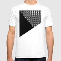 A_pattern White Mens Fitted Tee SMALL