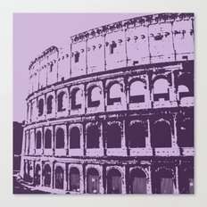 Purpura Coliseum Canvas Print