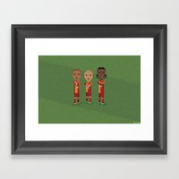 Galatasaray Celebration Framed Art Print