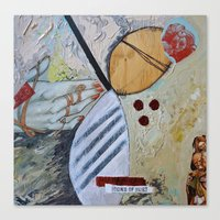 Icons of Hurt Canvas Print