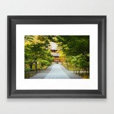 Nanzenji Temple in Kyoto, Japan Framed Art Print