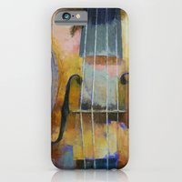 Violin Painting iPhone 6 Slim Case