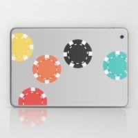 #21 Poker Chips Laptop & iPad Skin