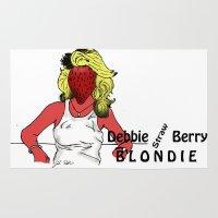 Debbie Straw-Berry   Blondie Rug