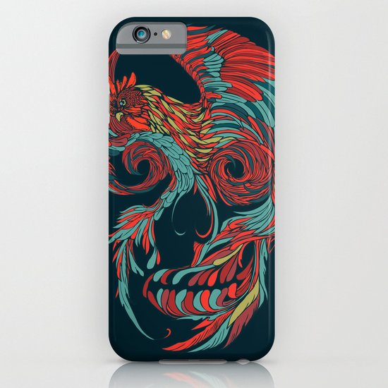 Rooster Skull  iPhone & iPod Case