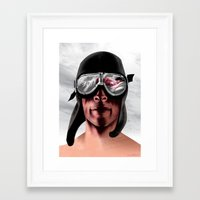 The Man Who Wanted To Be Lindbergh Framed Art Print