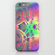 waves III plasticid iPhone 6 Slim Case