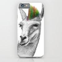 iPhone & iPod Case featuring Llamahawk by Blake Boenecke
