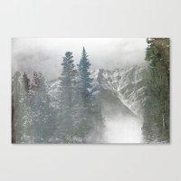 Calgary landscape Canvas Print