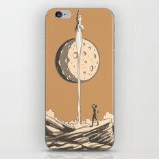Rocket Moon iPhone & iPod Skin