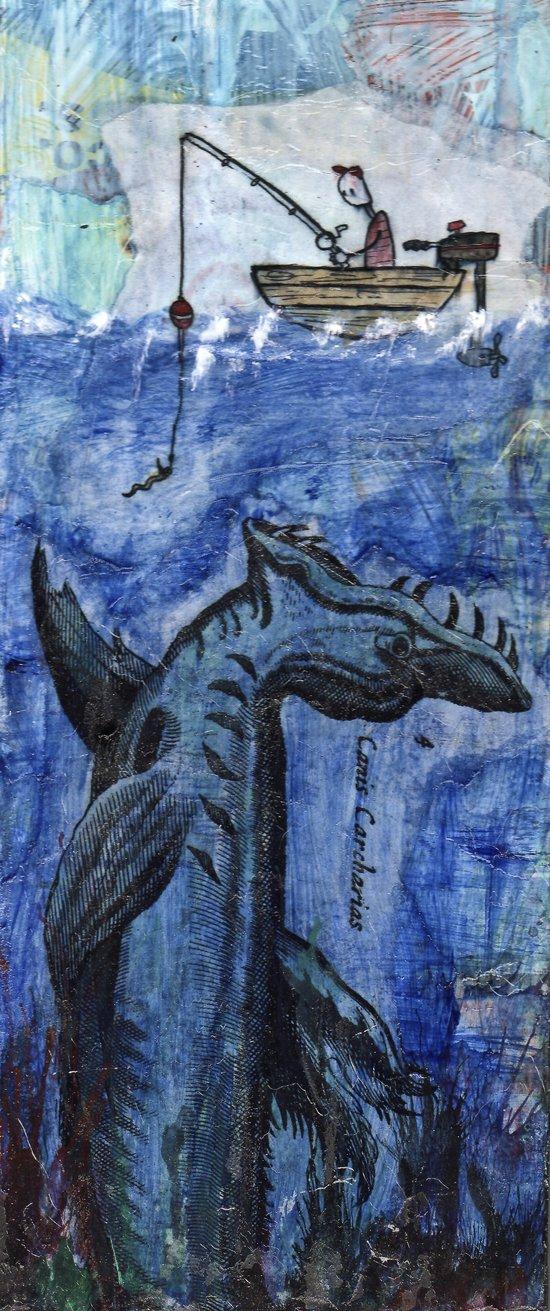 Fish tale Art Print