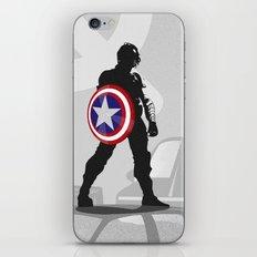 Bucky Barnes iPhone & iPod Skin