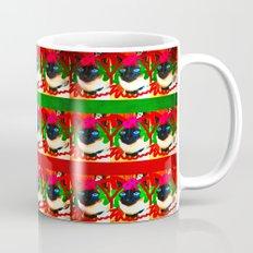 christmas kitty deluxe Mug