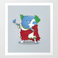 The Caesar And 42000 Mor… Art Print