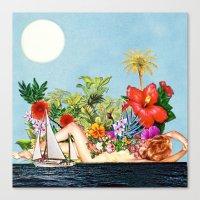 Siren Island Canvas Print