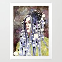 The Day I Forgot About T… Art Print