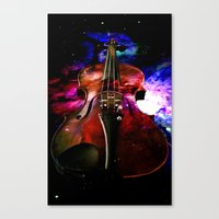 Violin Nebula Canvas Print