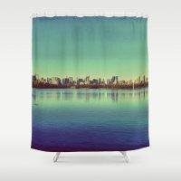 New York.. I've got you under my skin Shower Curtain