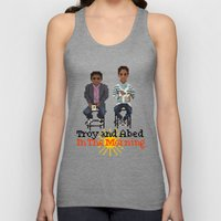 Troy And Abed In the Morning Unisex Tank Top