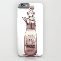 iPhone & iPod Case featuring bottle by AdiFish