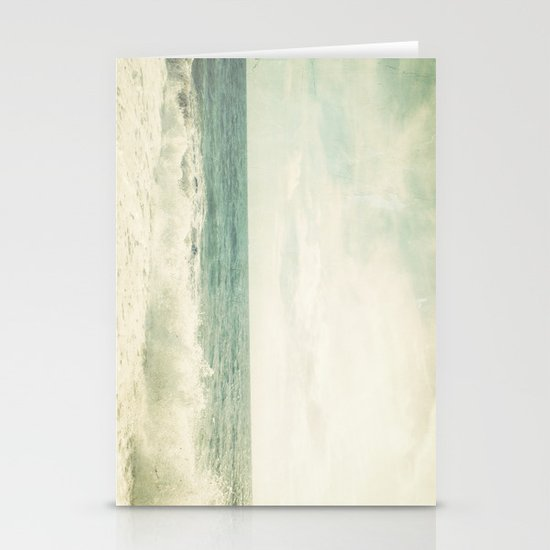 Waves Stationery Card