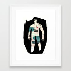 Remote Control Framed Art Print