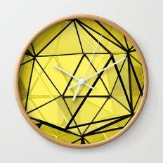 hexagonal dreaming Wall Clock