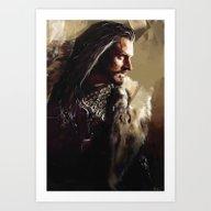 Thorin Art Print